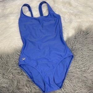 Speedo Periwinkle Blue One Piece Swimsuit